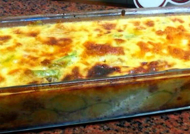 zucchini with Béchamel sauce