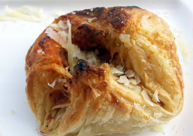 Healthy Recipe: Perfect Pizza Puff  / Kids Friendly