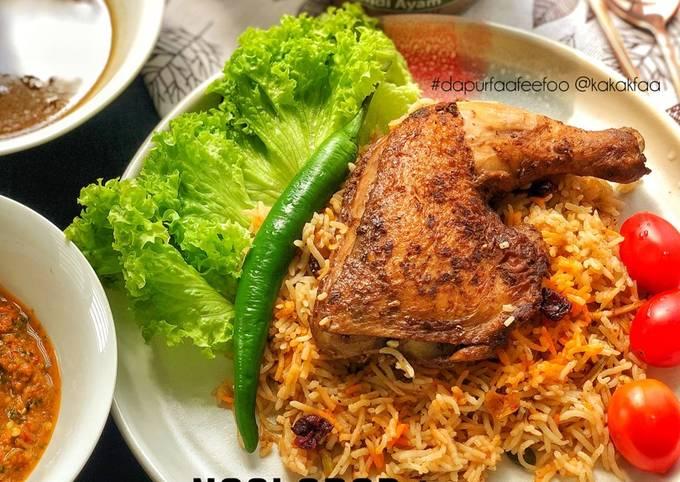 Langkah Mudah untuk Membuat Nasi Arab Ayam Mandy 🇾🇪, Sempurna