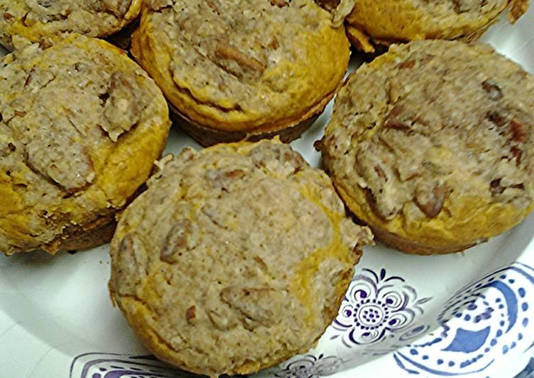 Recipe of Ultimate Pumpkin muffins