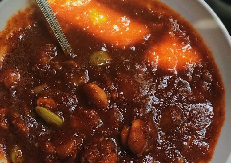 Foods That Could Make Your Mood Better Sambal udang petai (spicy chili gravy with prawn and stink bean)