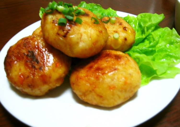Grandmother's Dinner Ideas Summer Healthy and Chewy Okara Dumplings