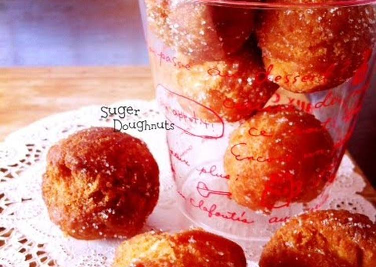 Simple Donuts with Pancake Mix