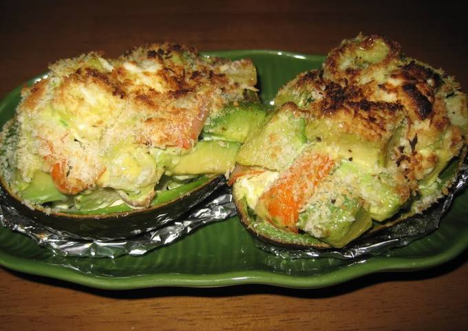 How to Prepare Ultimate Avocado Gratin with Melted Cream Cheese
