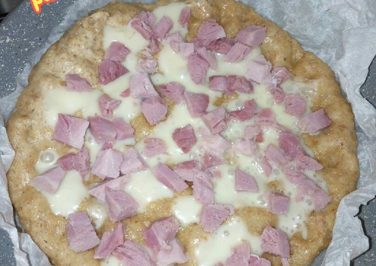 Ricetta Pizza-focaccia integrale cotta in padella