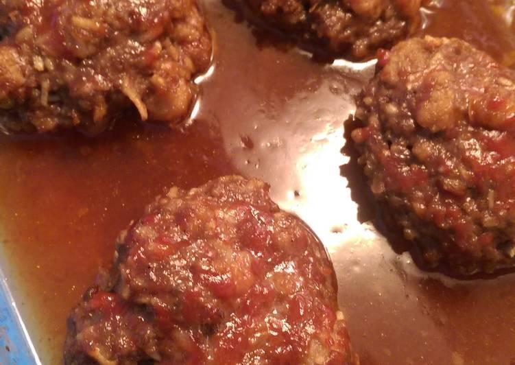 Barbeque Beef Patties
