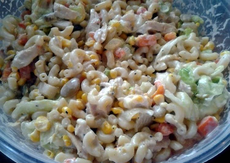 Jays chicken pasta salad