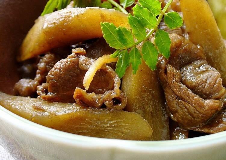 Beef and Burdock Root
