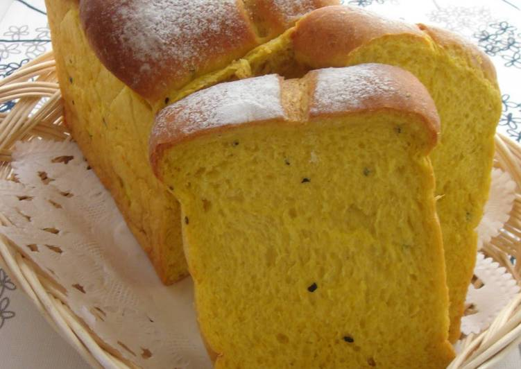 Recipe: Appetizing Rich Kabocha Squash Bread Loaf