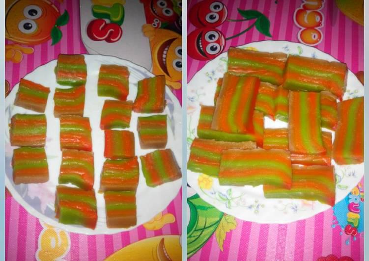Kue Lapis Susu Tepung Beras n Tapioka Mix Maizena Lembut BGTTTTT