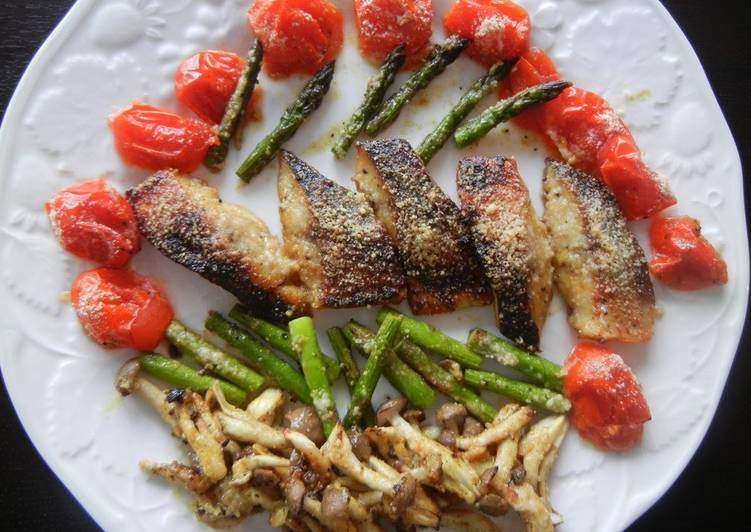 Spicy Honey and Curry-Roasted Mackerel, Help Your Heart with Food