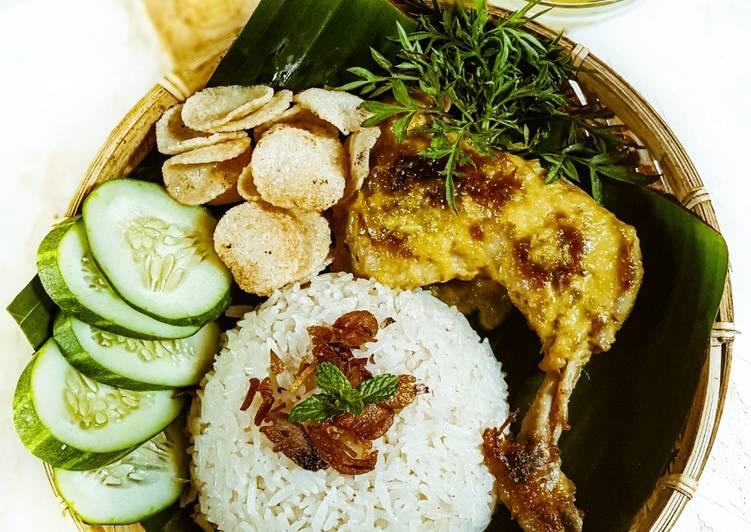 Nasi ayam percik kuning - velavinkabakery.com