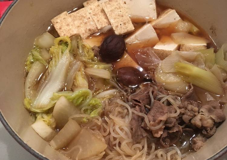 Pot au boeuf (Sukiyaki)