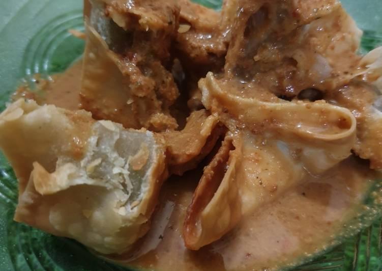resep cara mengolah Batagor (pake ikan teri)