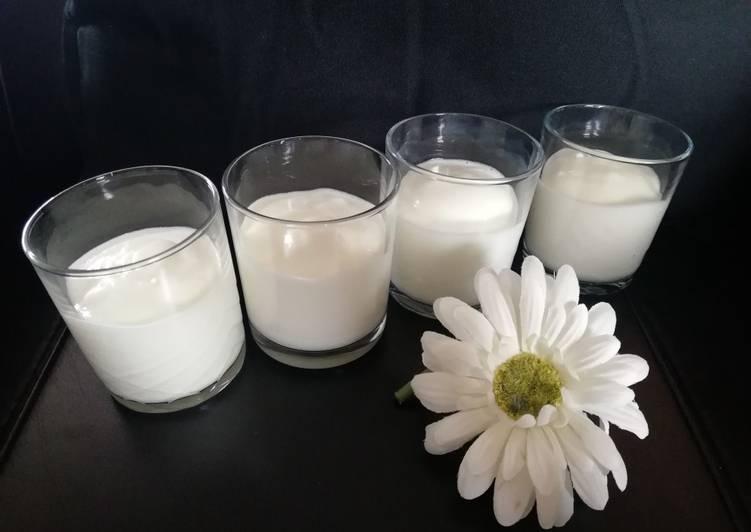 Crème nuage ☁️ aux blancs d'œufs
