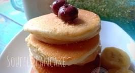 Hình ảnh món Souffle pancake (bánh không lò, không bột nở, không máy đánh trứng)