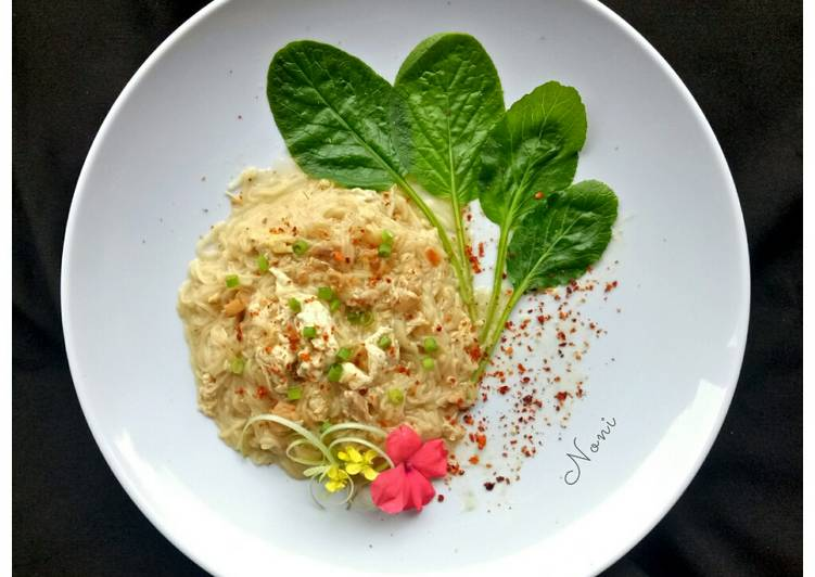 Resep Lo Mie Pakai Mieswa Mie Masak Kuah Kental Oleh Noni Sukmawati Cookpad
