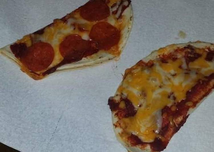 Recipe of Super Quick Homemade Quesadilla pizza