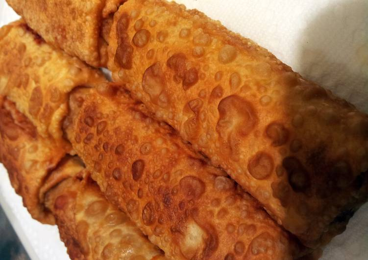 Easiest Way to Make Supreme Tasty Pizza Egg Rolls