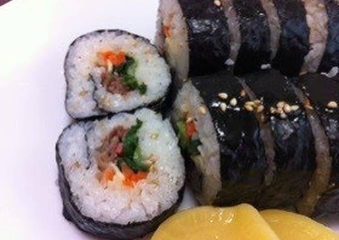 Colorful Kimbap: Korean Nori Seaweed Rolls