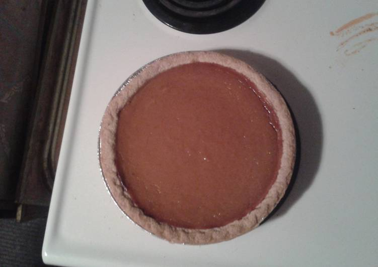 My Easy Pumpkin Pie!