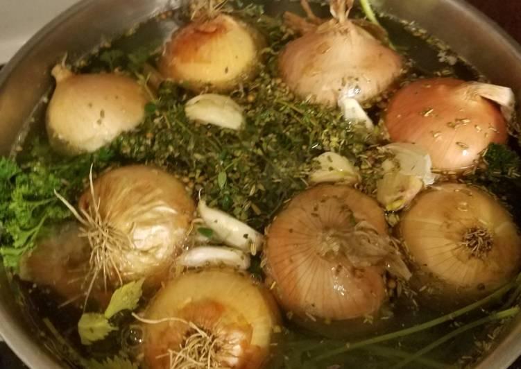 Recipe: Delicious Rescued Turkey Stock