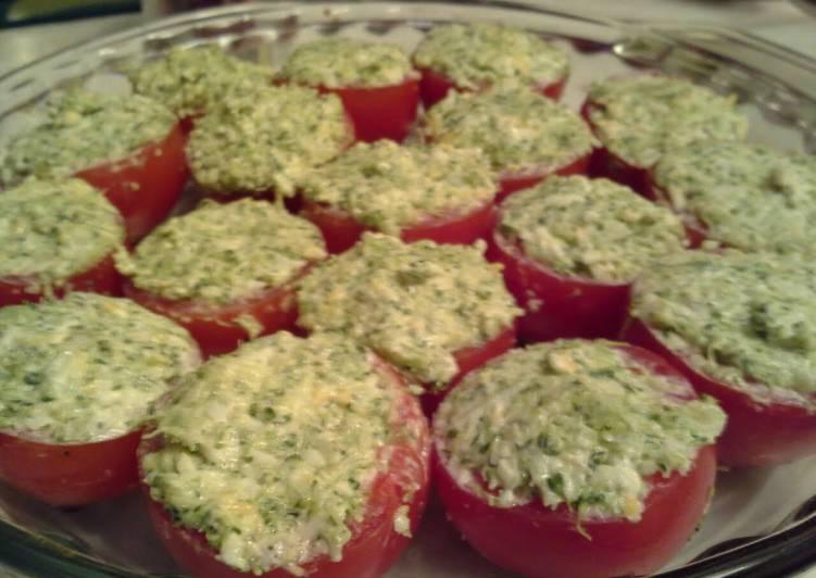 Baked Stuffed Tomatoes