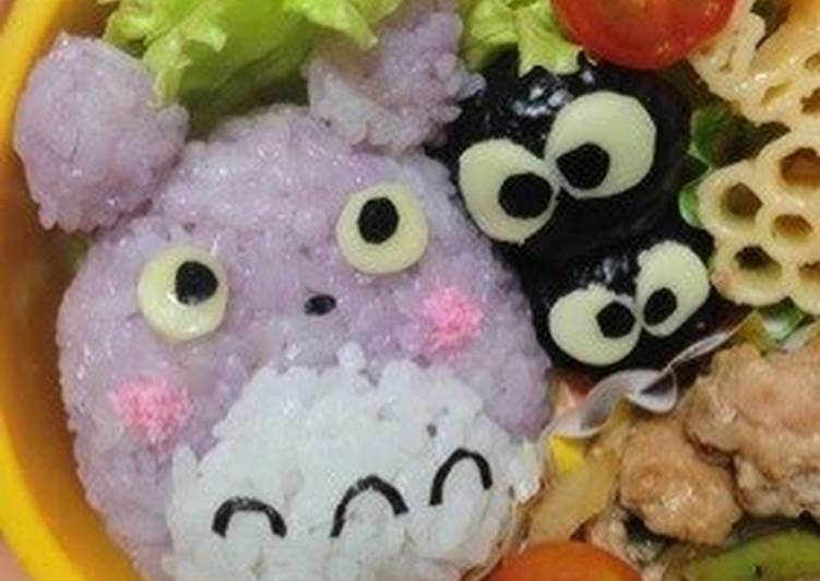 Steps to Prepare Ultimate Totoro Character Bento