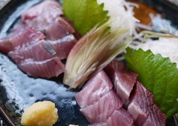 Simple Way to Prepare Most Popular Preparing Frigate Mackerel (Katsuo)
