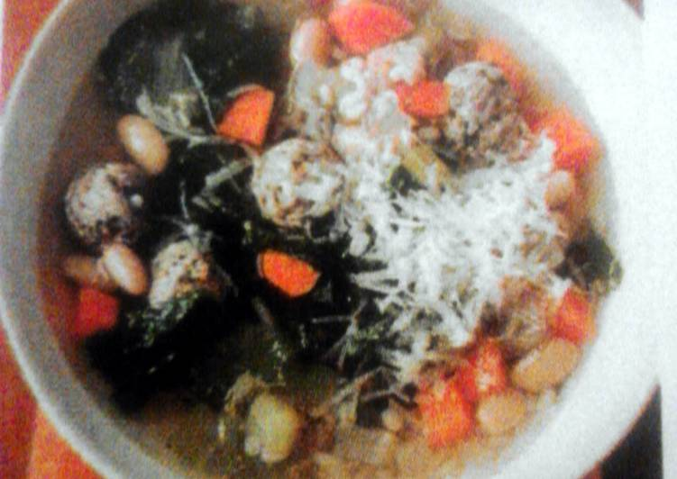 Step-by-Step Guide to Prepare Quick Meatball & Barley Soup FC