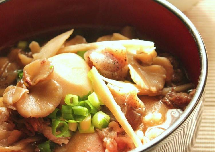 Simple Way to Make Favorite Yamagata-Style Stewed Taro Root