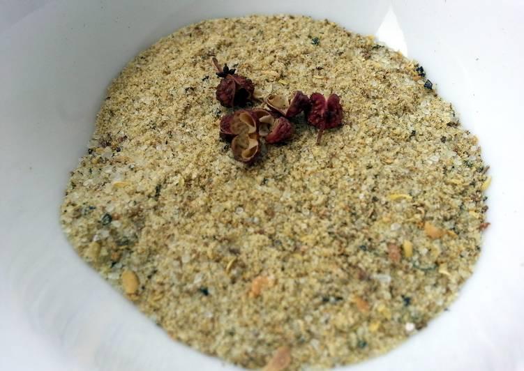 Recipe of Award-winning Sichuan Peppercorn Salt