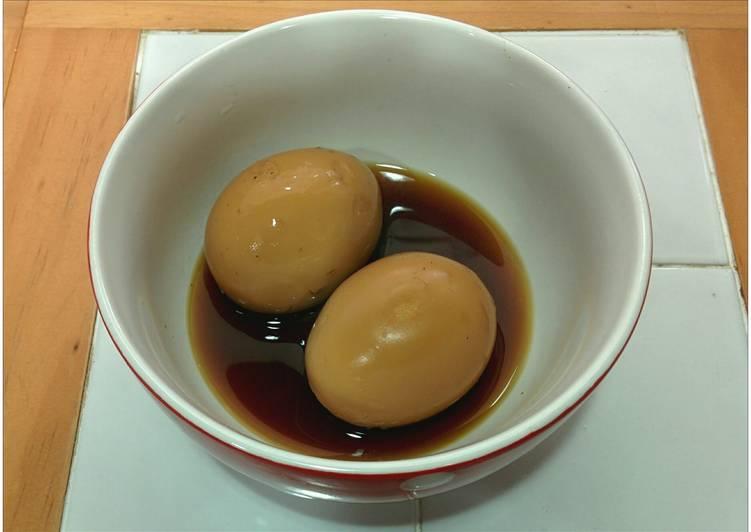 Soy Sauce Stewed Eggs