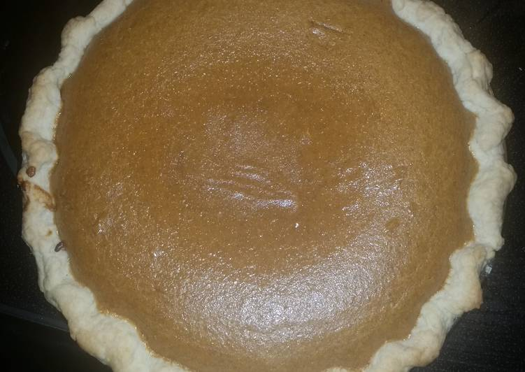 Zold family Pumpkin Pie!