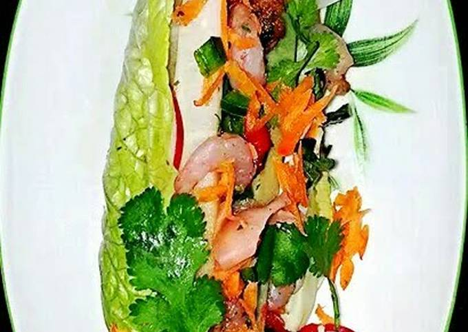 "Mike's, ""That's A Wrap!"" Asian Lettuce Wraps"