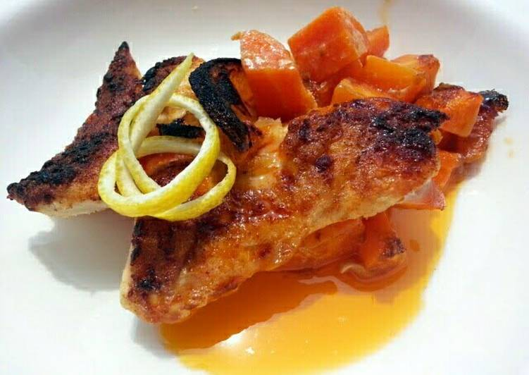 Spicy Buttered Chicken And Carrot