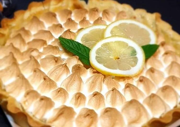 La Meilleur Recette De Tarte au citron meringuée