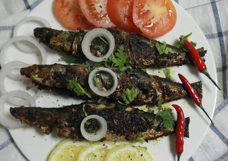 Grandmother's Dinner Easy Summer Sardine Fish Fry