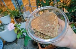 Cookies yến mạch chuối không đường (Healthy banana oats cookies)
