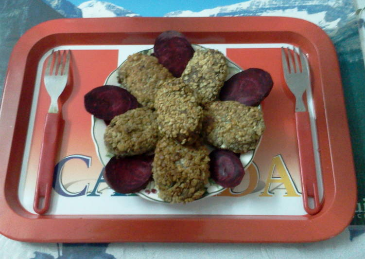 Simple Way to Prepare Perfect Banana flower -chicken cutlets