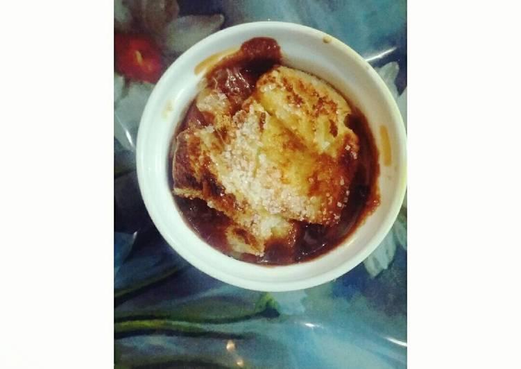 Recipe of Quick Caramel Bread Pudding
