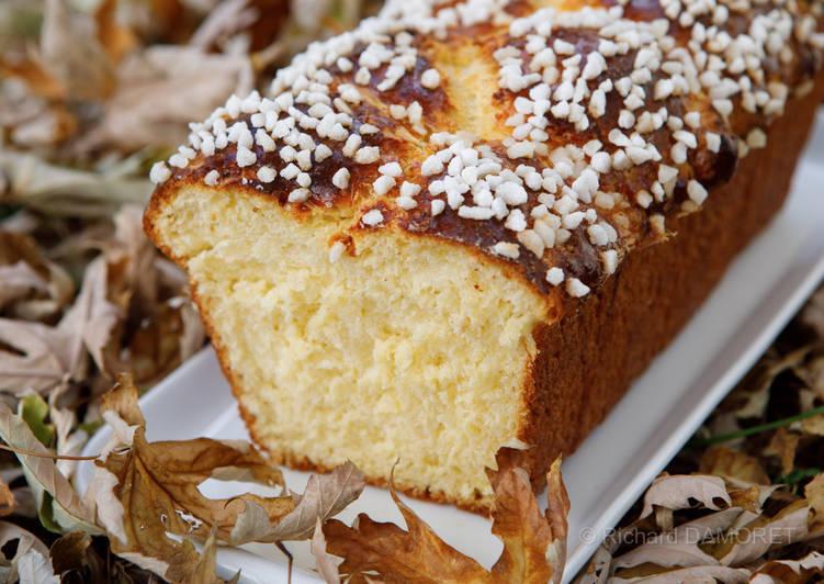 Recipes  Brioche inratable aux perles de sucre