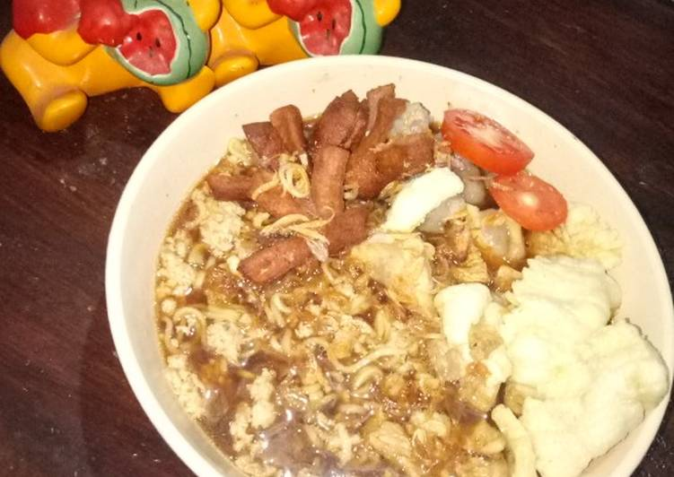 Resep Indomie goreng kuah Favorit