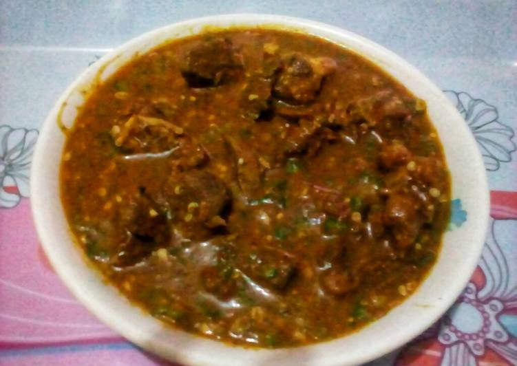 Golden Ogbono Soup