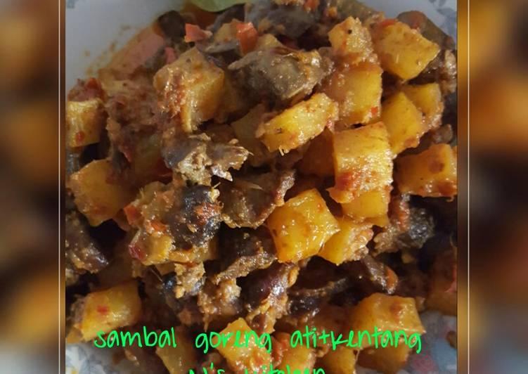 Sambal goreng ati+kentang