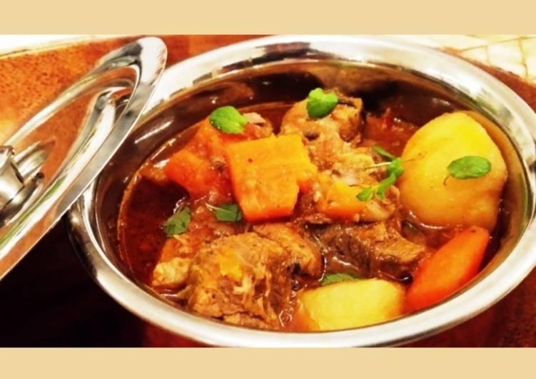 """Steps to Make Favorite Chicken """"Daube"""" - Chicken Stew Mauritian Style"""