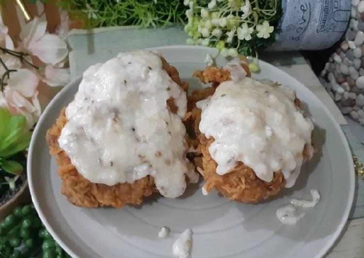 Resep Ayam Geprek Mozarella, Bikin Ngiler
