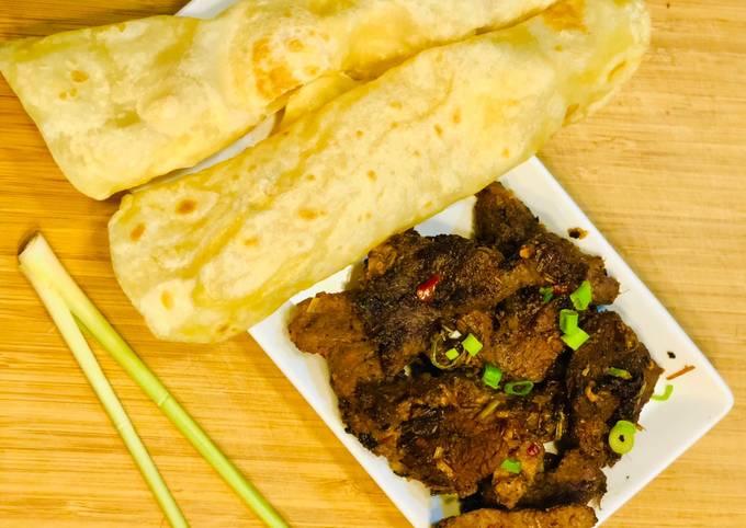 Vietnamese Lemon grass & ginger beef