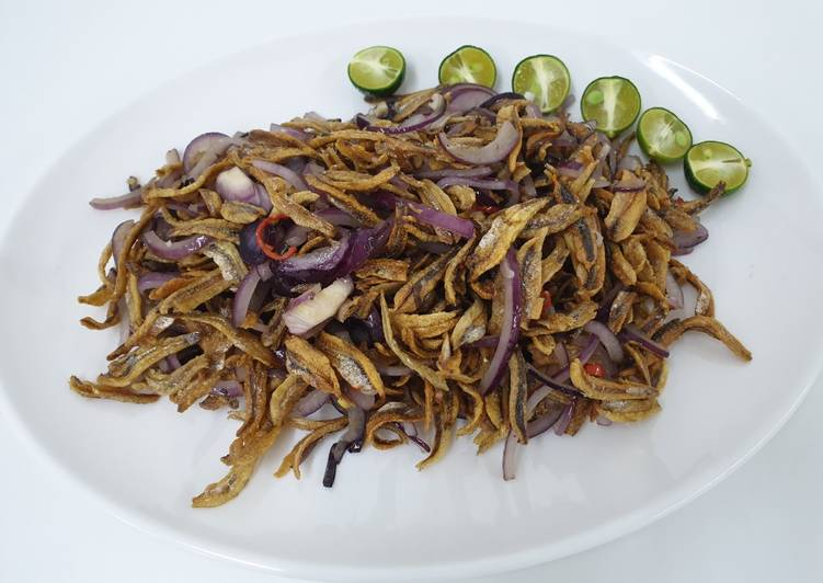 Recipe of Perfect Chilis Anchovies 香辣江鱼仔