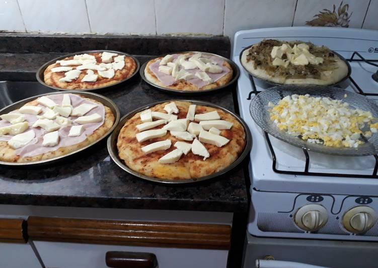 Pizzas ricas. Grace